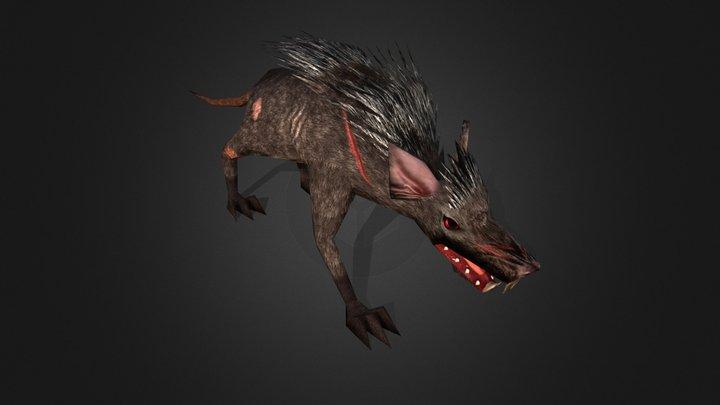 Rat 3D Model