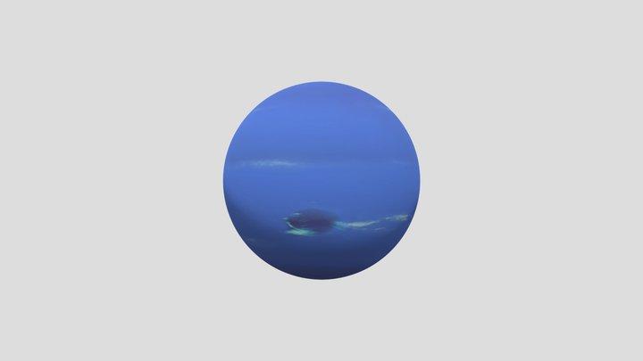 Neptune 3D Model