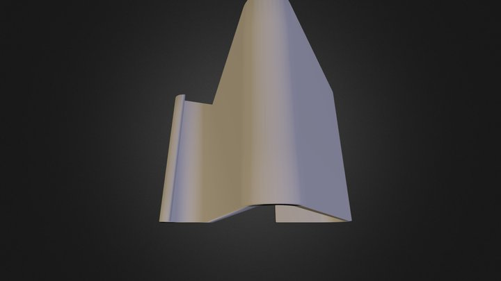 iPhone 5 Stand 3D Model