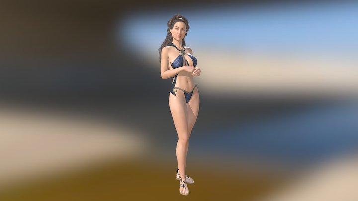 Sorceress 3D Model