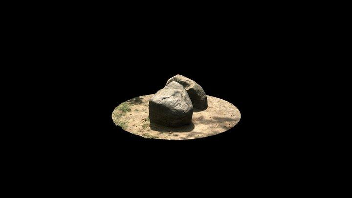 Rock Sculpture 3D Model