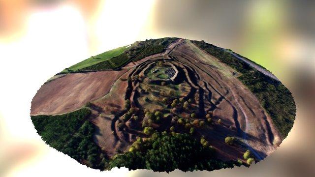 Hillfort of Castromaior 3D Model