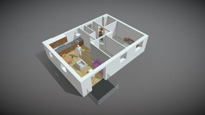 Meridian Floorplan v2 3D Model