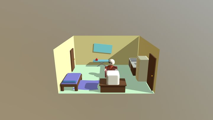 My First Animation 3D Model
