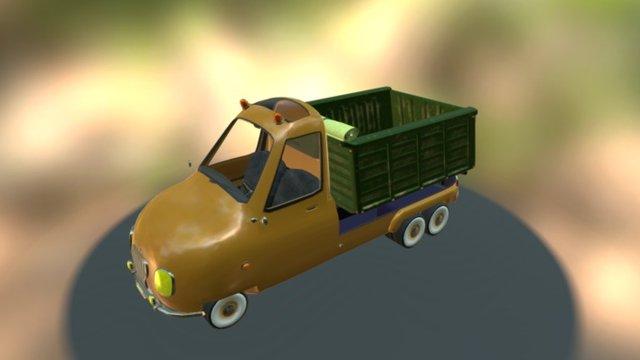 PickUp Dump 3D Model