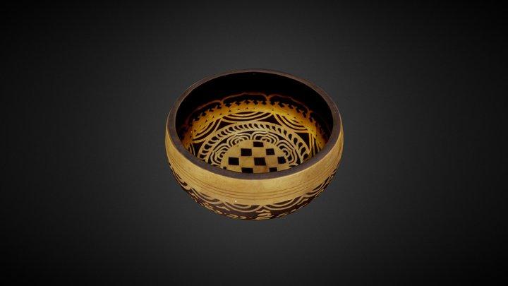 Nepali singing bowl 3D Model