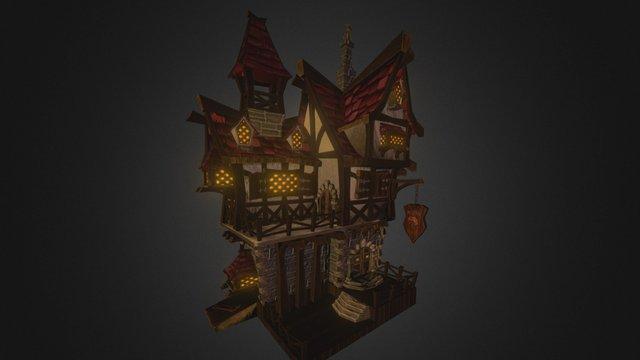 Village House Project- Tavern 3D Model