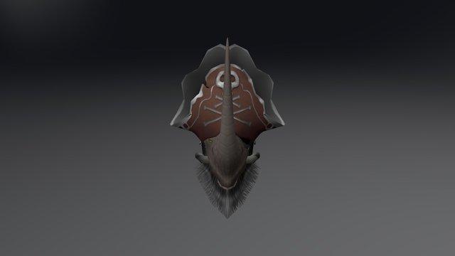 Head Rhino 3D Model