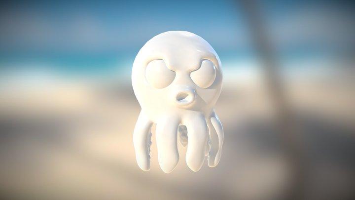 Mad Octopus 3D Model