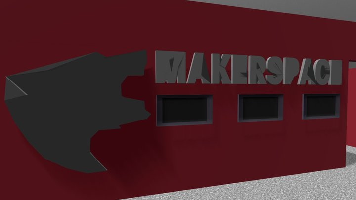 Makerspacenoroof 3D Model