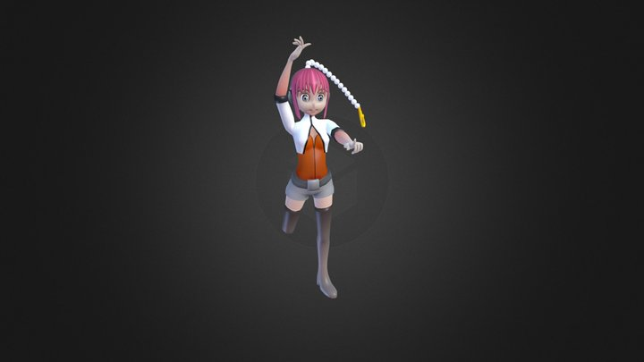 Anime character 3D 3D Model