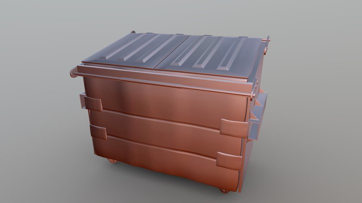 Musor Buk high poly 3D Model