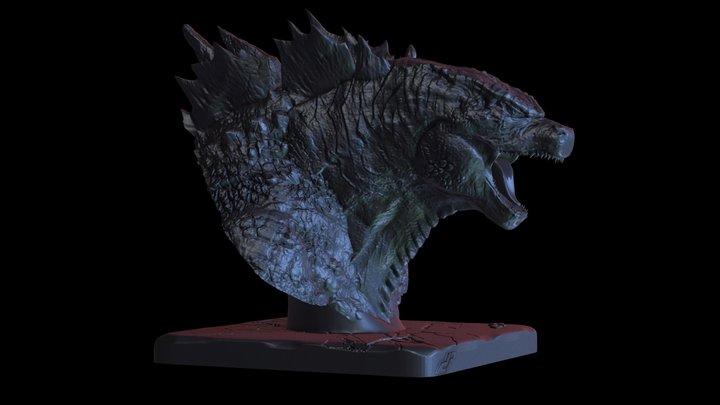 GODZILLA 2014 3D Model