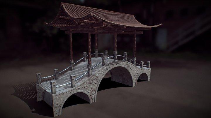 China Bridge 3D Model
