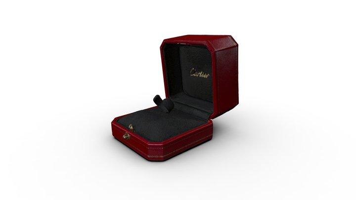 Cartier Ring Box 3D Model