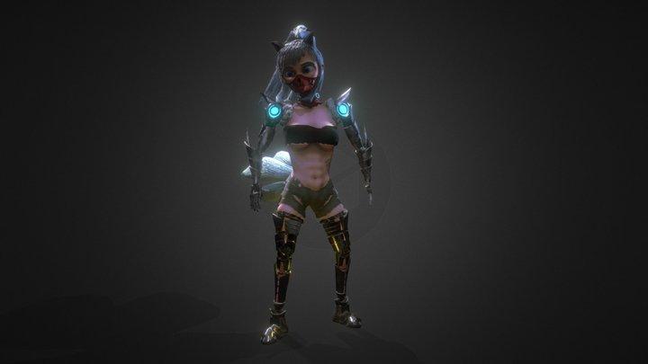 Sora : Personaje 3D 3D Model