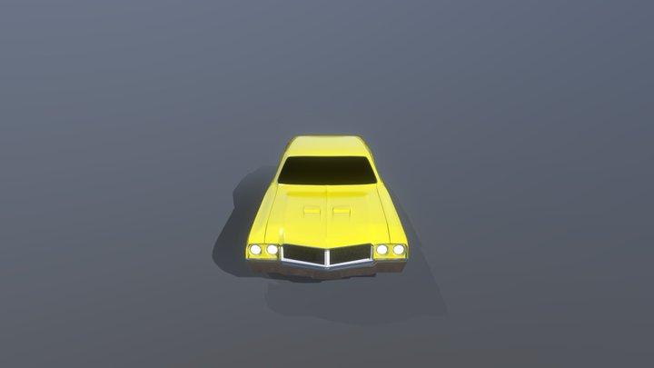 1970 Buick Skylark 3D Model