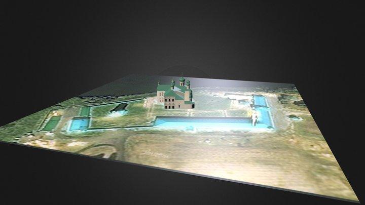 Lodeinoe Pole Map 3D Model