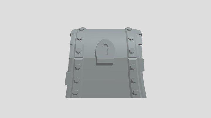 Schatztruhe 3D Model