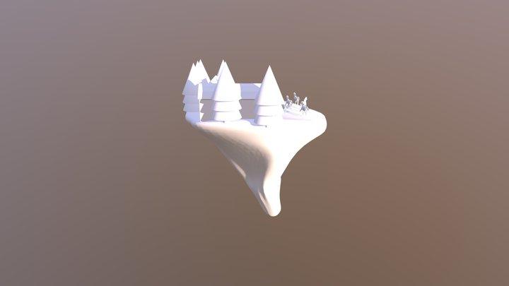 Stable Island Inprogress 01 3D Model