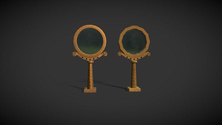 Mirrors 3D Model