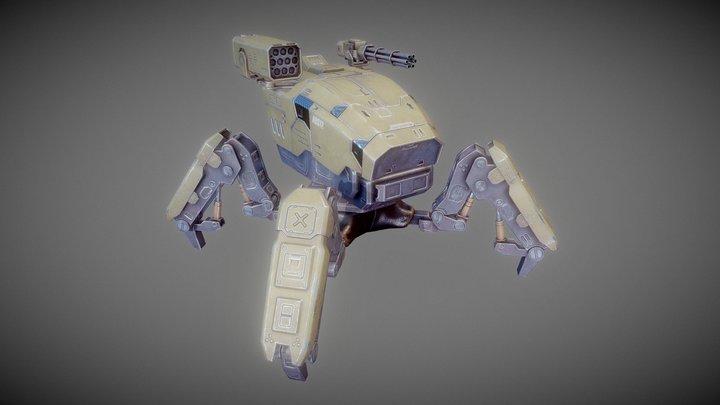 Robotank 3D Model