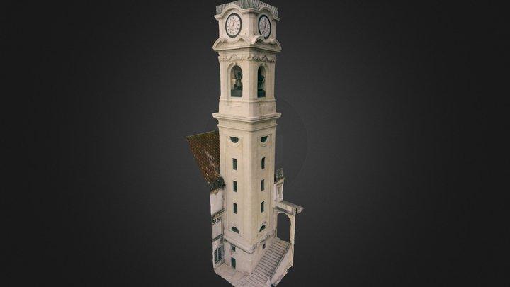 Torre da Universidade de Coimbra 3D Model