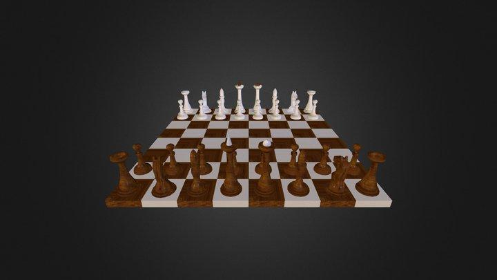 Chess, Շախմատ 3D Model
