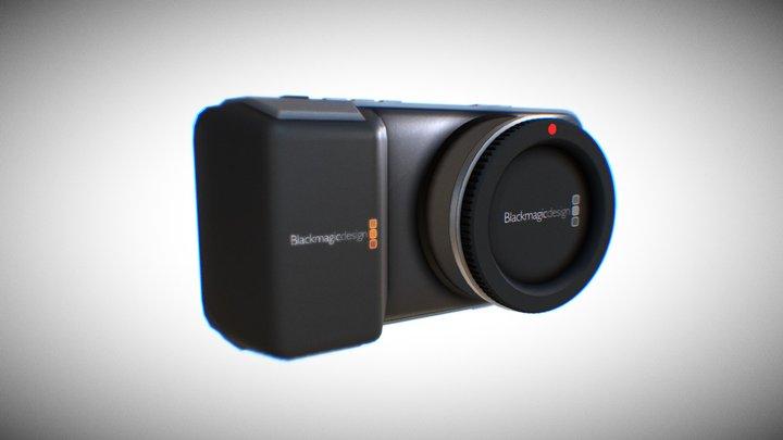 Blackmagic Pocket Cinema Camera 3D Model