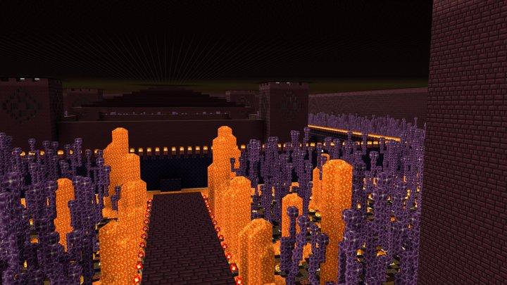 Seaworld - Castle by Night 3D Model
