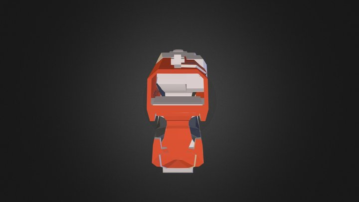 Diatron Nerf Gun 3D Model