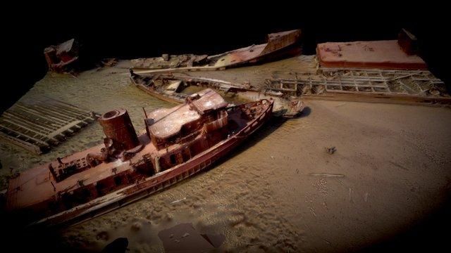 Staten Island Shipyard 3D Model