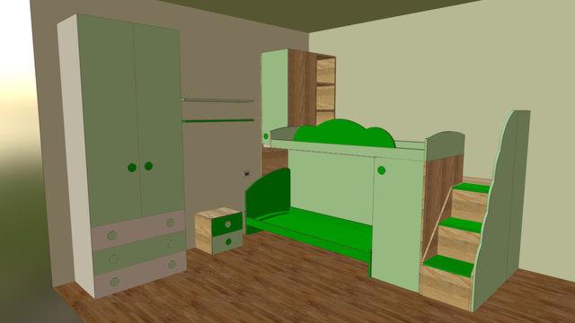 Cameretta Simoni 3D Model