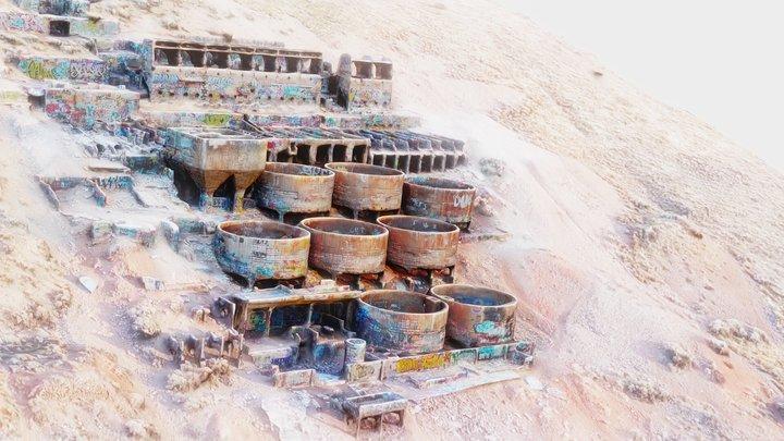 Goshen Mine Ruins 3D Model