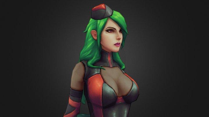Rage Squad: Ana 3D Model