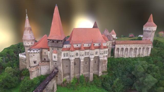 Castel Hunedoara II 3D Model