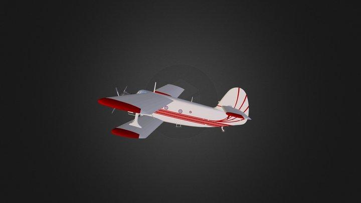 Antonov AN-2 Colt 3D Model