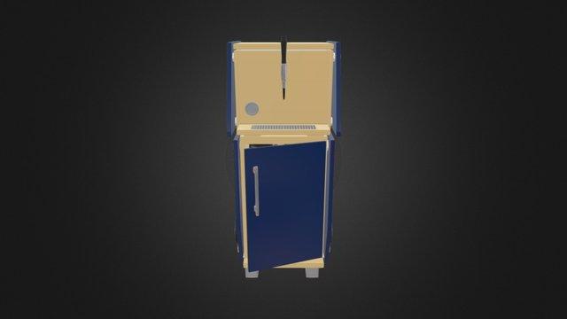 Kegtrolley 3D Model