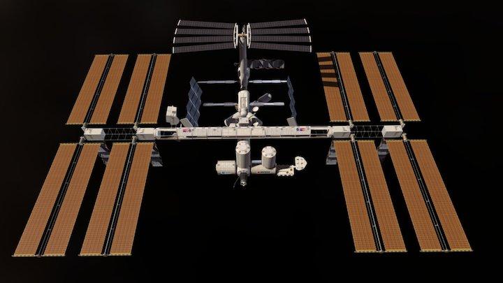 ISS 3D Model