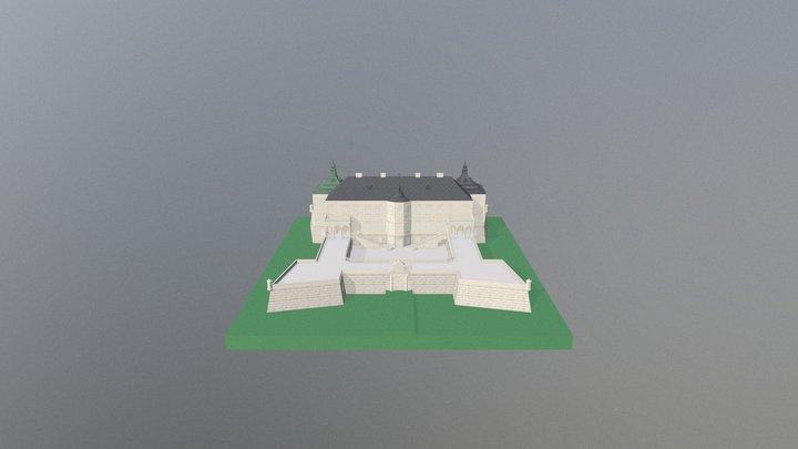 Podhorce Castle 3D Model