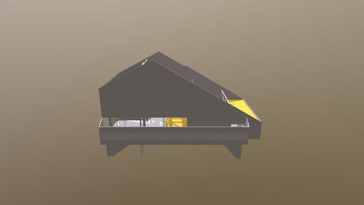 Gare G4 3D Model