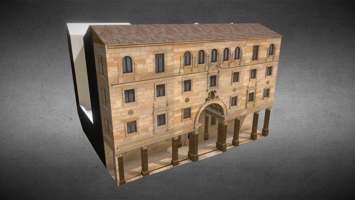 Edificio Banesto 3D Model