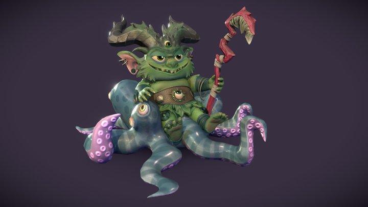 Oberon: King of Fairies 3D Model