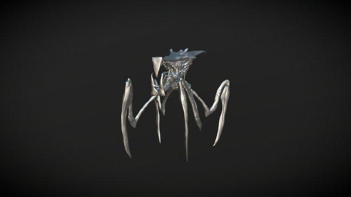 Warrior Bug 3D Model