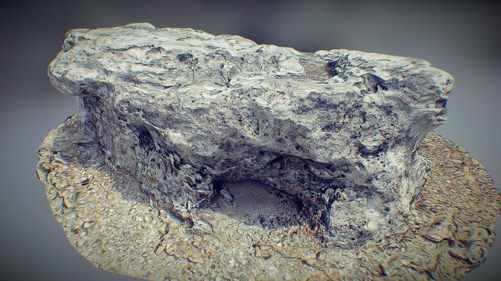 Scanned Rock 3D Model