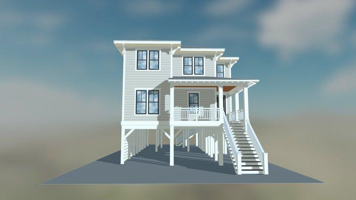 Gulfstream Cottage 3D Model