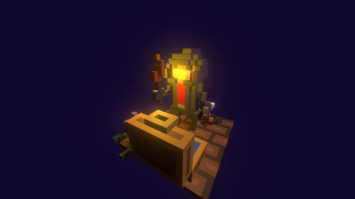 Pixel Rogue 3D Model