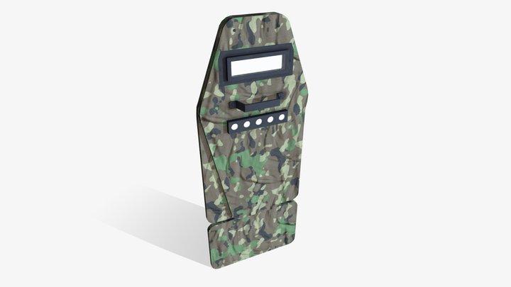 Vant-VM Tactical Shield 3D Model