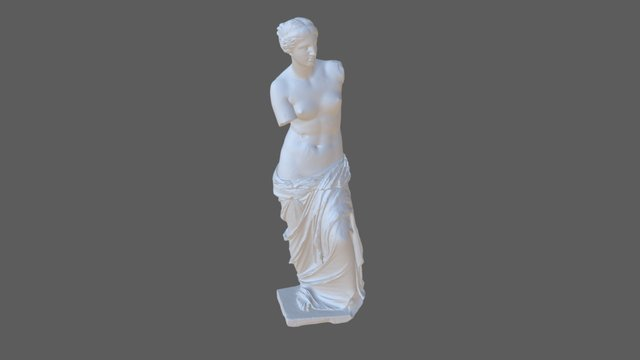 Venus De Milo, SMK KAS434 3D Model