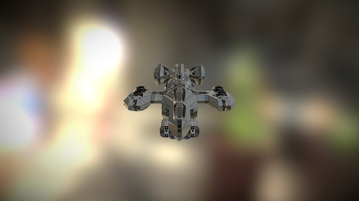 RCSP_-_Wyvern_(No_Mods)_TroopCargo_Multi-Purpose 3D Model